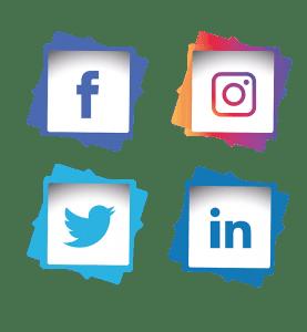 Créa.Com Agence de Publicité, logo réseaux sociaux