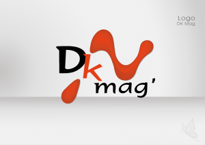 Créa.Com Agence de Publicité, logo dk mag
