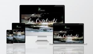 Créa.Com Agence de Publicité, maquette site créa.com