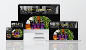 Créa.Com Agence de Publicité, site itnernet Hair Coiffure