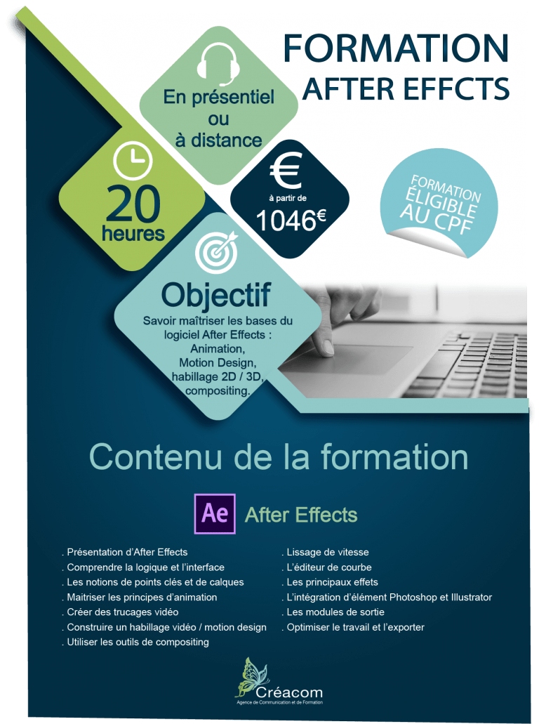 programme formation AfterEffects
