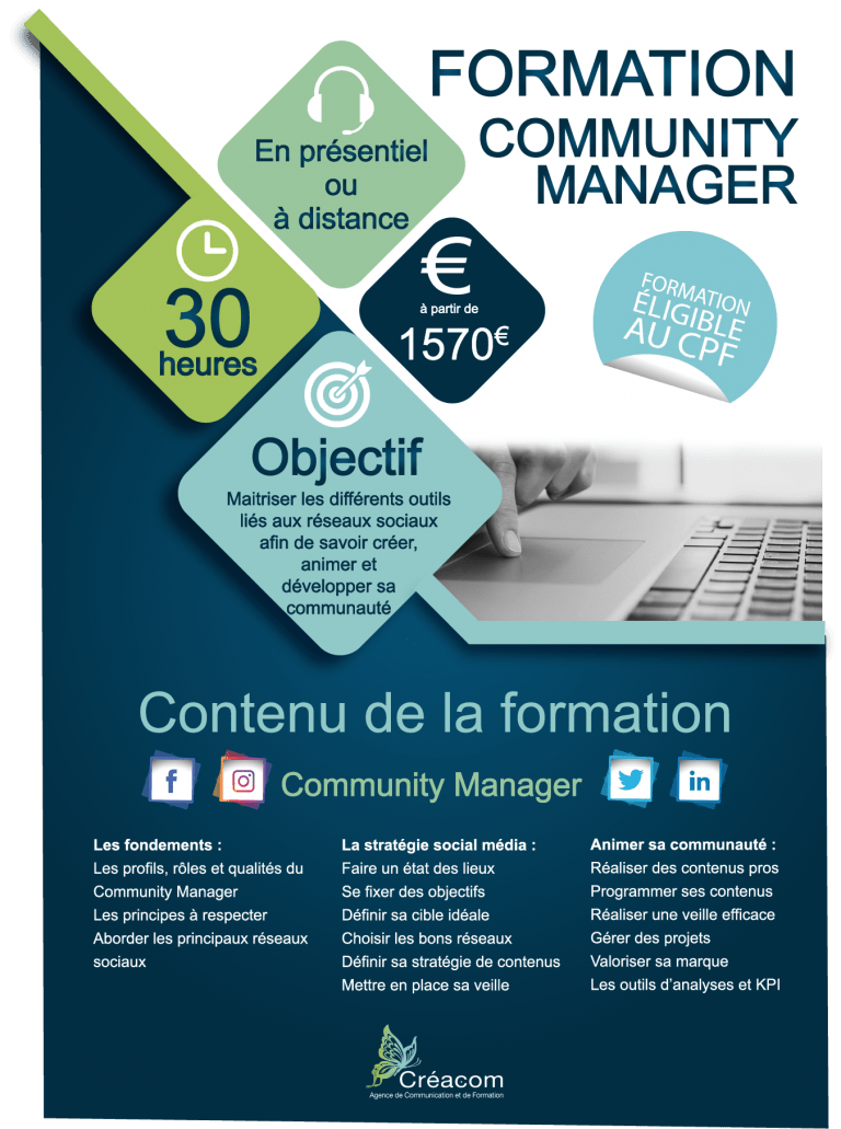 programme formation community manager