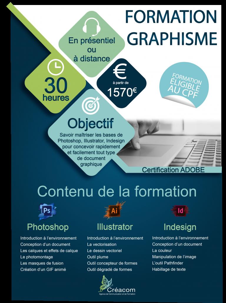 programme formation graphisme